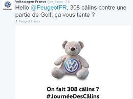 Insolite : Volkswagen câline Peugeot, Citroën, Seat et Audi sur Twitter