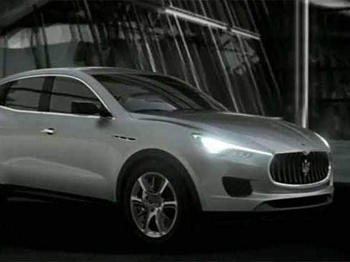 Le Maserati Kubang en vidéo...
