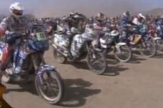 Dakar 2010 :  Quelques images de la 9ème étape, le départ en ligne dans les dunes de Copiapo