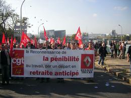 Emploi, salaire et retraite : la CGT manifeste aujourd'hui au Mondial de l'Auto 2010