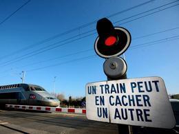 9% des Français ne respectent pas les feux aux passages à niveau