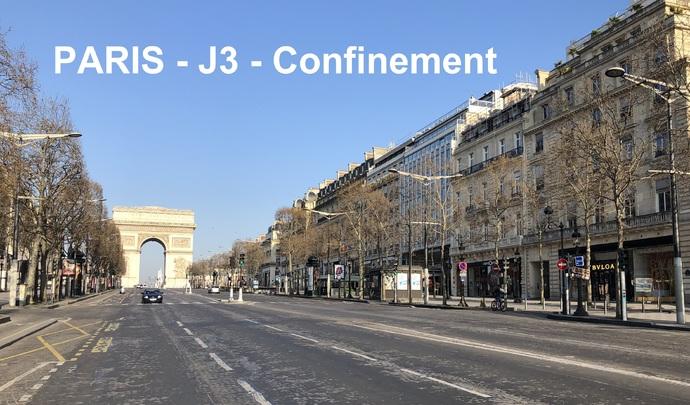 Paris - Coronavirus: à la rencontre de quelques irréductibles au volant… (reportage vidéo)