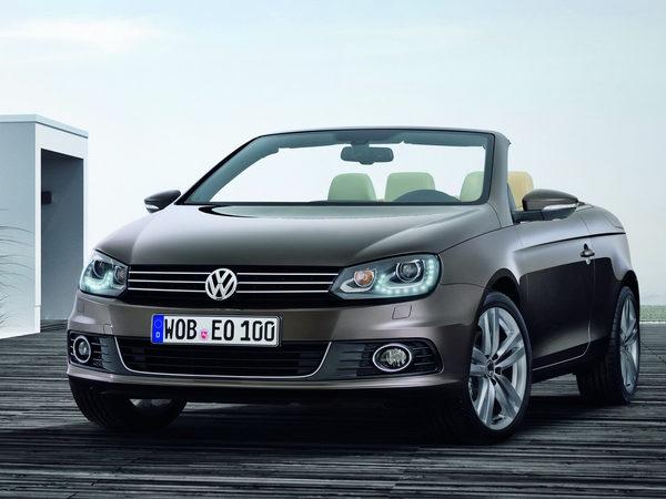 Officiel : voici la Volkswagen Eos restylée