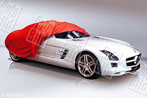 Mercedes SLS AMG : cette fois, on la voit beaucoup mieux