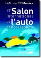 SALON DE GENEVE 2003