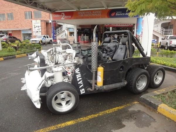Saucisse du vendredi jeep willys 51 for Garage jeep nantes