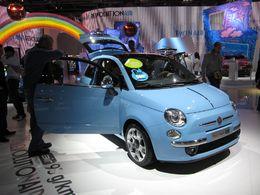 En direct du Mondial de Paris : les photos des Fiat 500 et 500c TwinAir