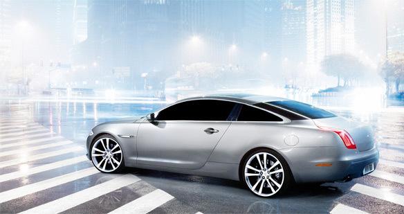 Nouvelle Jaguar XJ: bientôt en coupé?