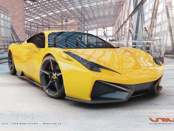 [Design] Ferrari 458 Italia GT Concept par JMV