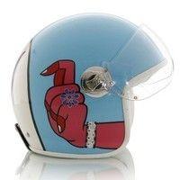 """Les """"3 suisses"""" se lancent dans les casques: Jet Manish Arora peint à la main..."""