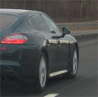 Porsche Panamera: nouveaux clichés volés, aphrodisiaques