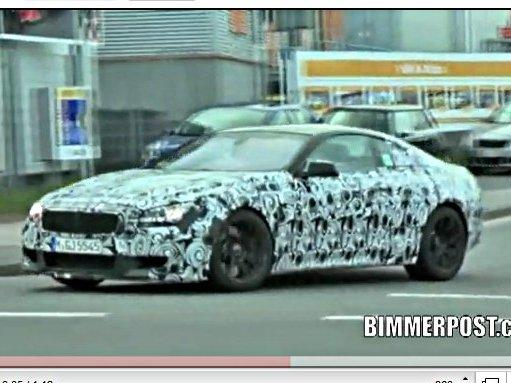 [vidéo] la future BMW M6 s'essaie au Ring