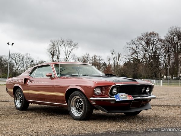 Photos du jour : Ford Mustang Match 1 (Cars and Coffee Paris)
