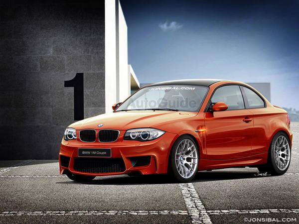 Futur BMW 1M Coupé : dernières interprétations graphiques