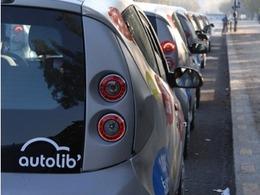 Autolib' testé hier en avant-première par les Parisiens
