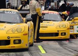 Entrée en piste à Mid Ohio pour la nouvelle Corvette C6.R GT2