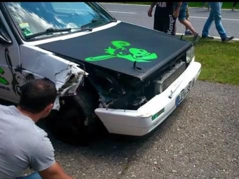 Wörthersee : le crash d'une Golf de 1000 ch en vidéo