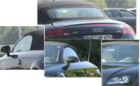 Audi TT roadster: Vu!