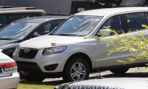 Hyundai Santa Fé restylé : déjà dans la circulation