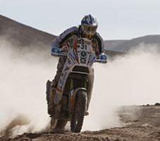 Dakar 2010 : Bonne nouvelle ; Luca Manca est réveillé et réagit bien aux stimulations