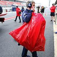 Formule 1 - Test Catalogne D.1: Frayeur pour Nakajima