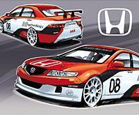 WTCC - Honda: La future livrée N'Technology