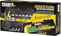 France Equipement : chargeur de batterie BC4000E