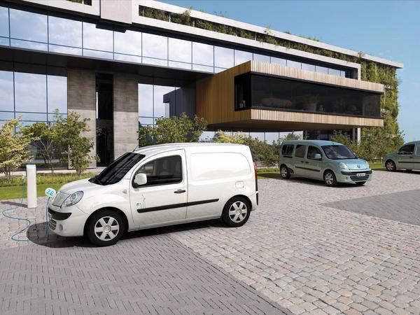 Renault Kangoo Z.E : ouverture des commandes