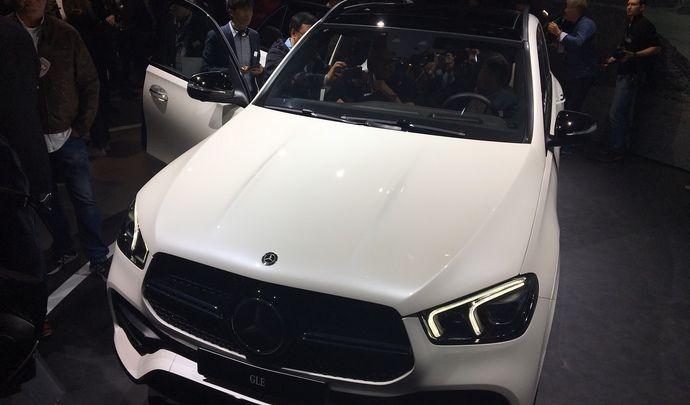 Mercedes GLE : les premières images en live - Avant-première Mondial de l'auto 2018