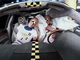 General Motors travaille sur un nouvel airbag placé entre les occupants avant