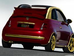 "L'effrayante Fiat 500C ""La Dolce Vita"" par Fenice Milano"