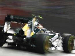Le Team Lotus souffre de sa fiabilité