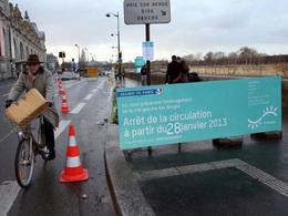 Paris : la voie rapide de la rive gauche définitivement fermée