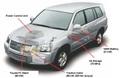 Record d'autonomie de Toyota : le FCHV à PAC roule 560 km avec un seul plein d'hydrogène