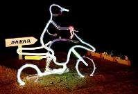 A la lumière de la moto
