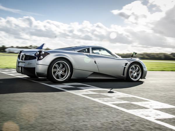 La Pagani Huayra explose le record de la piste Top Gear