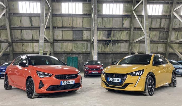 Duel Opel Corsa VS Peugeot 208 : dispute familiale - Salon de l'auto Caradisiac 2020