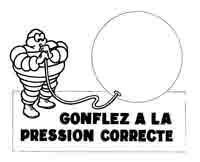 Michelin vous met la « Juste Pression »