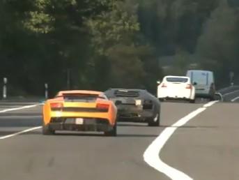 [Vidéo] Pour l'instant, la prochaine grande Lamborghini chante moins bien que sa petite soeur