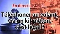 Question de droit : le kit pétion, c'est légal?