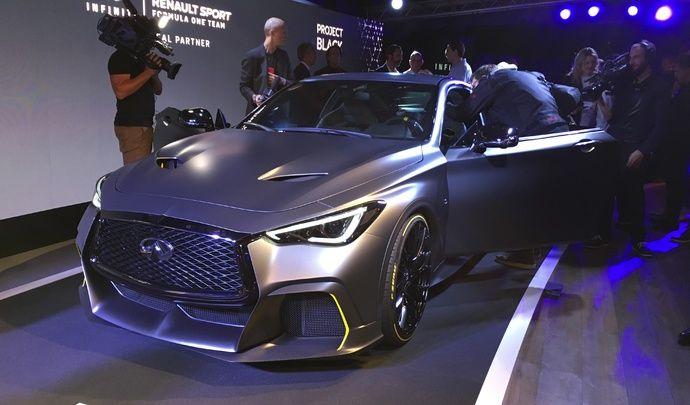 Infiniti Projet Black S : les premières images en live - Avant-première Mondial de l'auto 2018