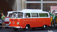 Miniature : 1/43ème -VW Transpoter camping-car