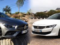 Comparatif : Mercedes CLA Shooting Brake VS Peugeot 508 SW : breaks de charme