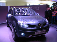Renault Koleos Concept - en direct du salon de Paris