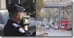 Où sont placés les radars à Paris ?
