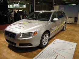En direct du Mondial de Paris : le Volvo V70 hybride rechargeable