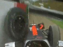 [Vidéo] Le crash de Lewis Hamilton à Suzuka