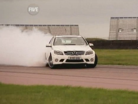 5th Gear : Mercedes C63 AMG vs BMW M3, Bentley Continental SuperSports Cabriolet et... The Stig