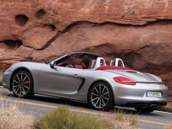 Surprise : le nouveau Porsche Boxster nu