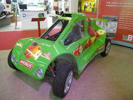 """En direct du Mondial de Paris : le  projet """"Véhicule  Andros  Car"""" de l'ISAT"""